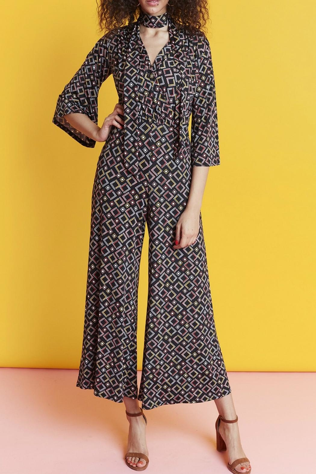 Onjenu Laurie Angles Jumpsuit - Front Cropped Image