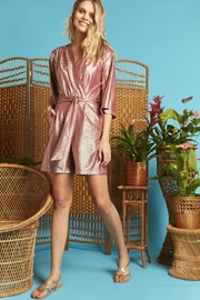 Onjenu Laurie Metallic Playsuit - Product Mini Image