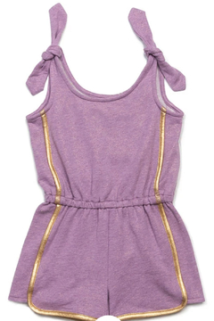 Egg  by Susan Lazar Lavender Bree Romper - Alternate List Image