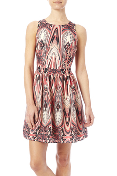 Lavender Brown A-Line Gatsby Dress - Product List Image