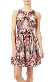 Lavender Brown A-Line Gatsby Dress - Product Mini Image