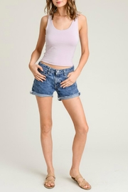 Wasabi + Mint Lavender Cropped Tank - Product Mini Image