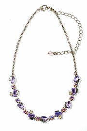 Sorrelli Lavender Crystal Necklace - Product Mini Image