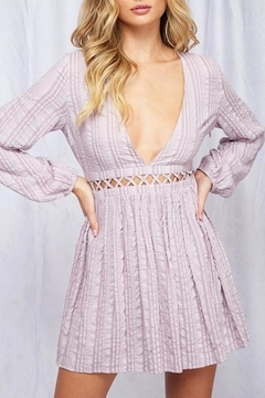 Peach Love California Lavender Dress - Product List Image