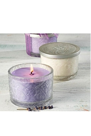 Sonoma Lavender Lavender Etched Candle - Product Mini Image