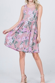 CY Fashion Lavender Floral Dress - Other