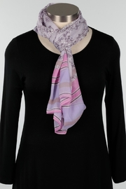 Fraas Lavender Floral Scarf - Product Mini Image