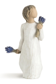Willow Tree(r) by Susan Lordi, from DEMDACO Lavender Grace Figure - Product Mini Image