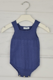 Granlei 1980 Lavender Knitted Onesie - Front cropped