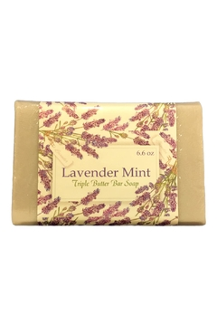 Soap and Water Newport Lavender Mintbarsoap - Product List Image