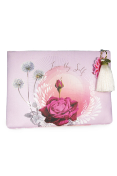 PAPAYA! Lavender Rose Large Tassel Pouch - Product List Image