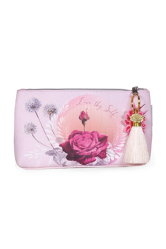 PAPAYA! Lavender Rose Small Tassel Pouch - Product List Image