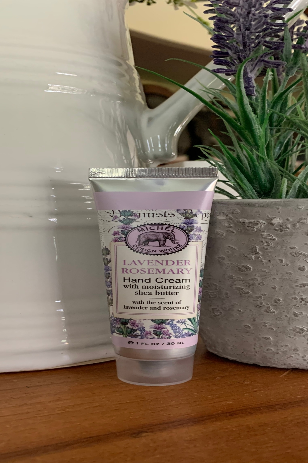 Michel Design Works Lavender Rosemary Handcream - 1fl oz - Front Cropped Image