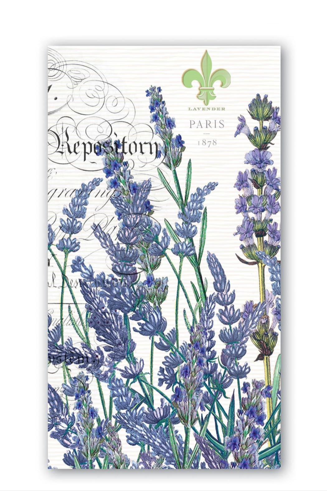 Michel Design Works Lavender Rosemary Hostess Napkins - Main Image