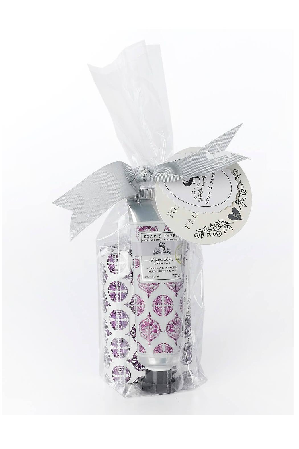 Soap and Paper Factory Lavender/sheabutter Gift Set - Main Image