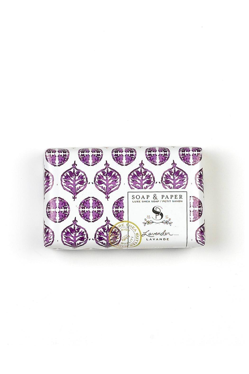 Soap and Paper Factory Lavender/sheabutter Gift Set - Side Cropped Image