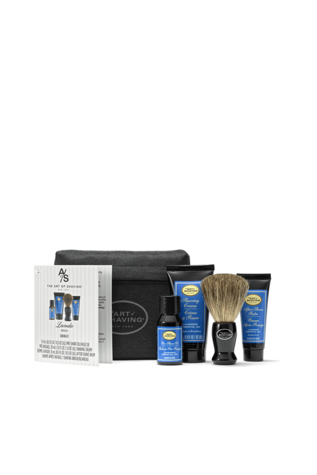 ART OF SHAVING LAVENDER STARTER KIT WITH BAG - Main Image