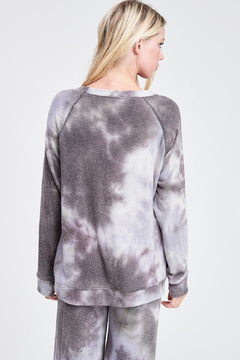 R+D Lavender Tie Dye Loungewear Set - Alternate List Image