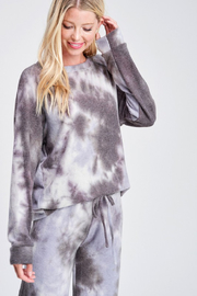 R+D Lavender Tie Dye Loungewear Set - Product Mini Image
