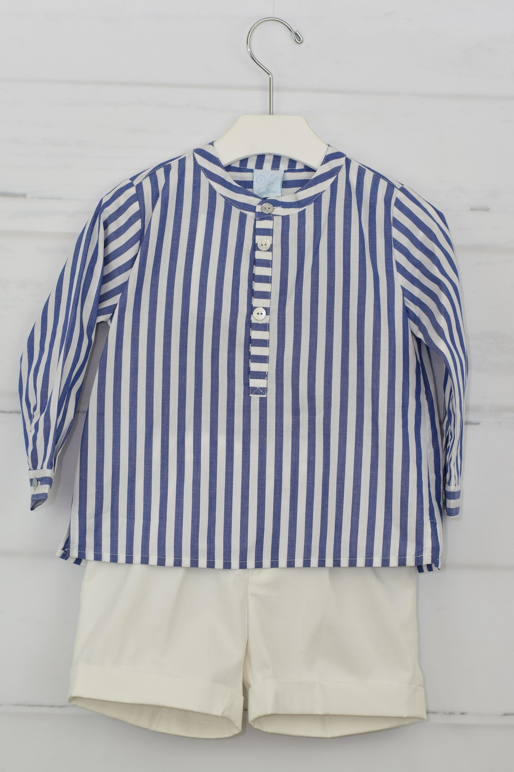Granlei 1980 Lavender & White Outfit - Front Full Image