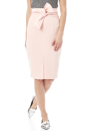 Blush Pencil Skirt