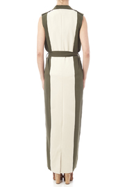 LAVISH ALICE Two Tone Trench - Back cropped