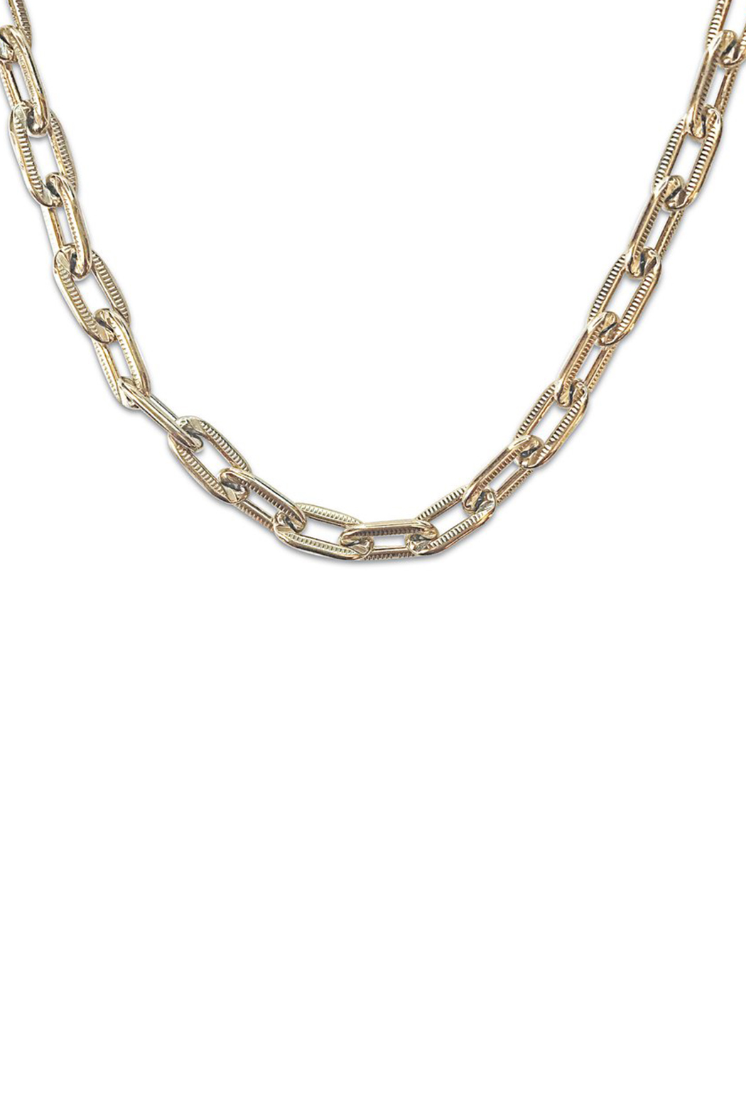 Erin Fader Jewelry Lavish Links Necklace - Front Full Image