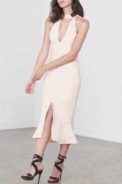 Shoptiques Product: Flounce Hem Midi Dress