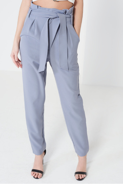 Shoptiques Product: High-Waisted Belted Trousers