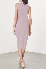 LAVISH ALICE Mauve Metal Ring Dress - Back cropped