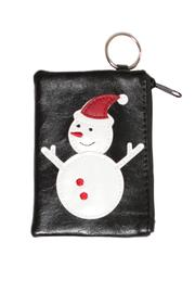 Lavishy Snowman Coin Purse - Front cropped