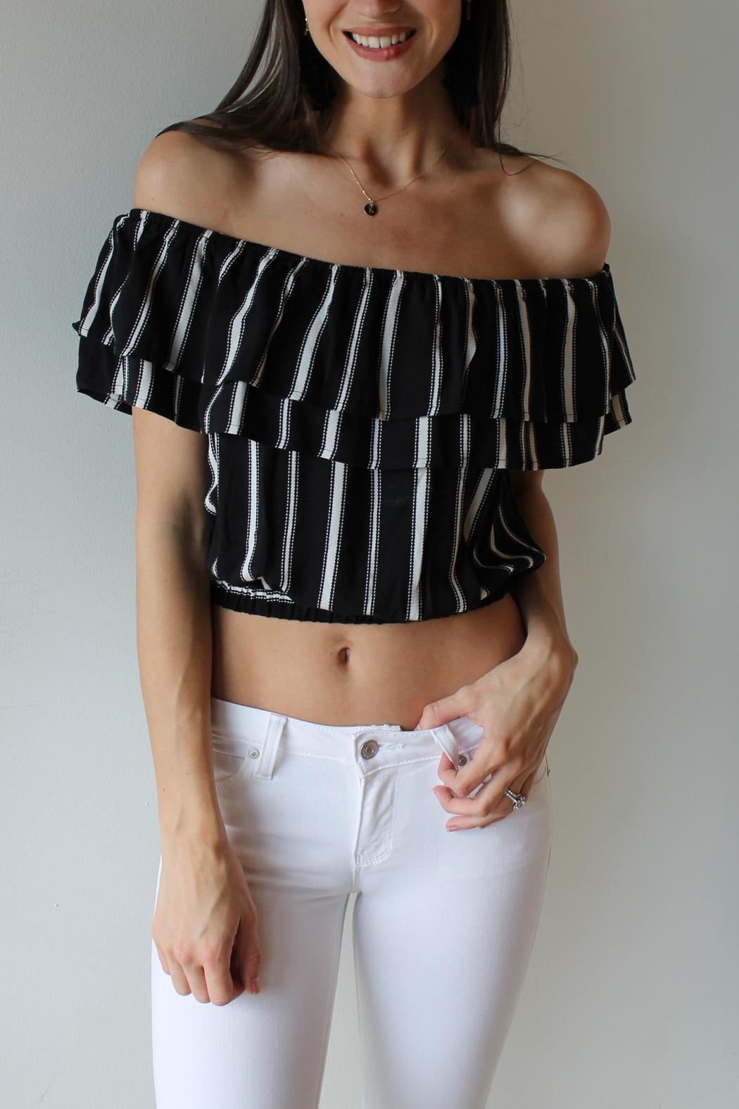 Wishlist Lawson Crop Top - Front Cropped Image