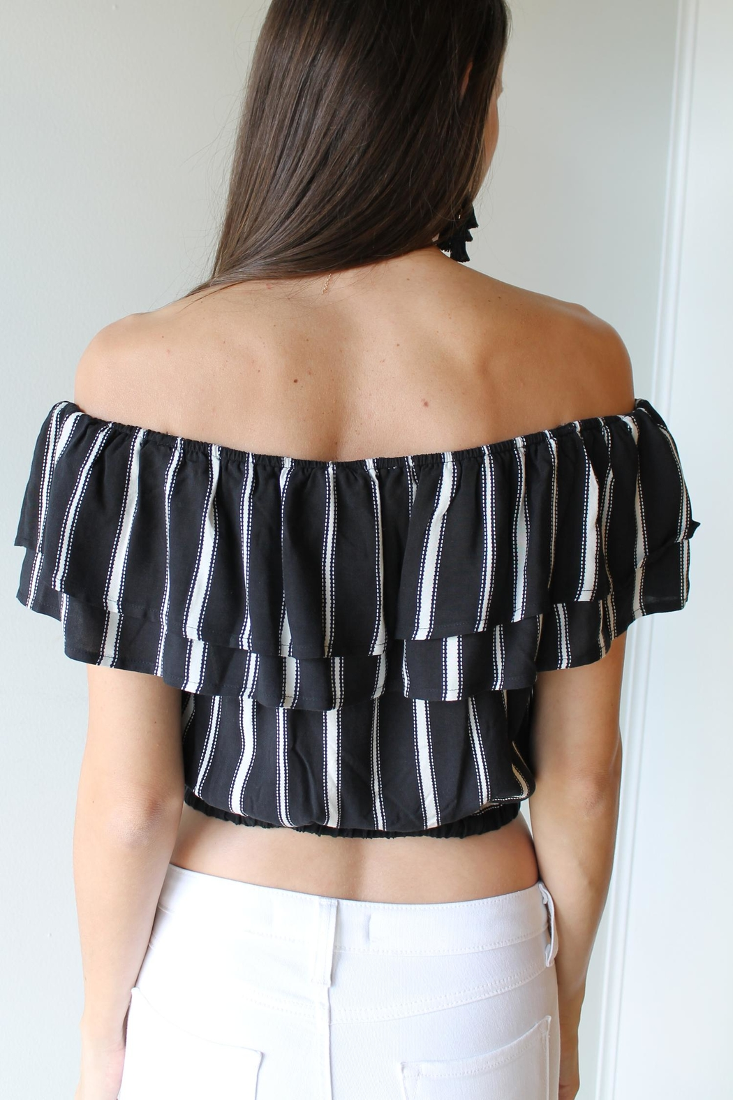Wishlist Lawson Crop Top - Side Cropped Image