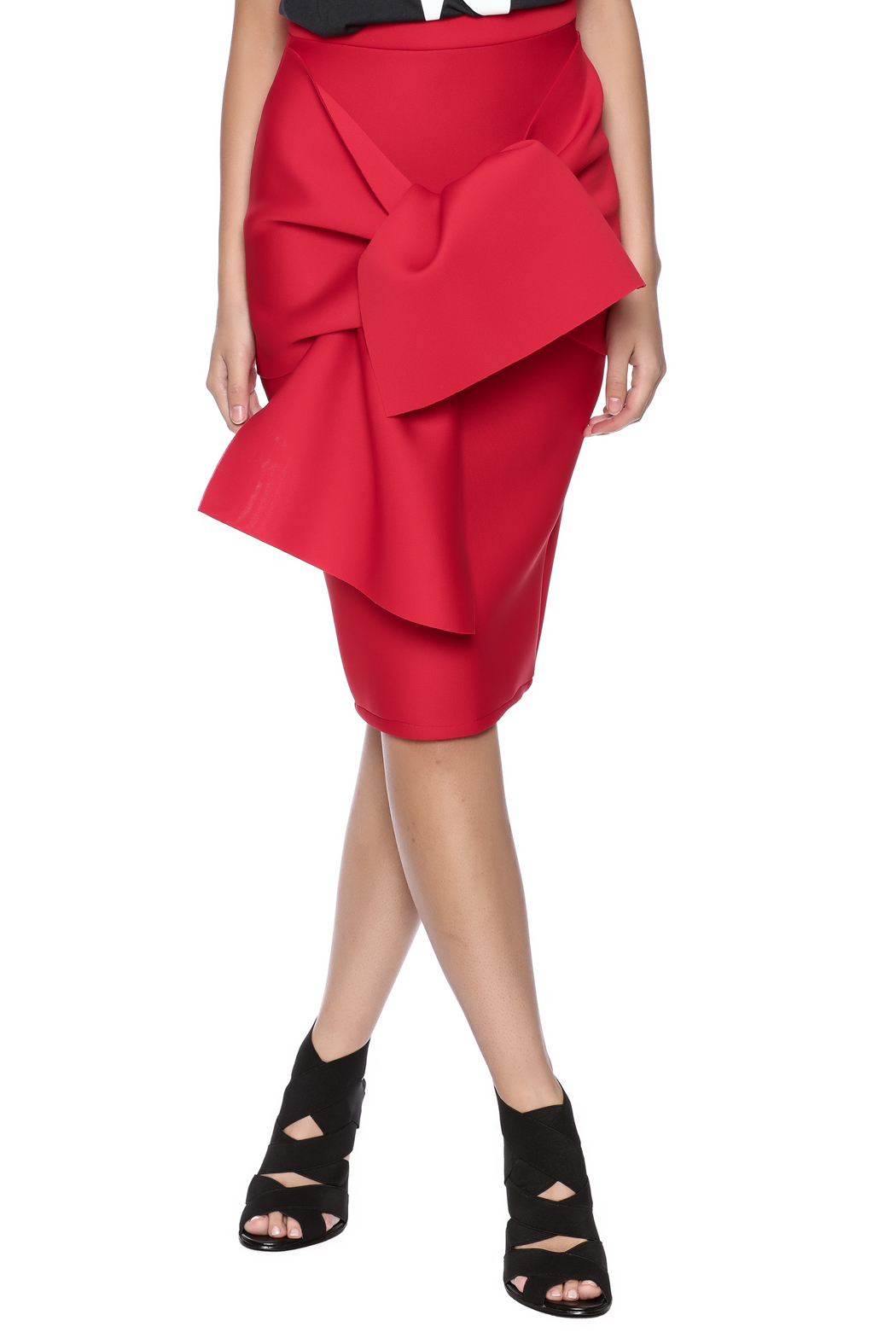 Layanna Aguilar Origami Skirt From Manhattan By 3ny Shoptiques