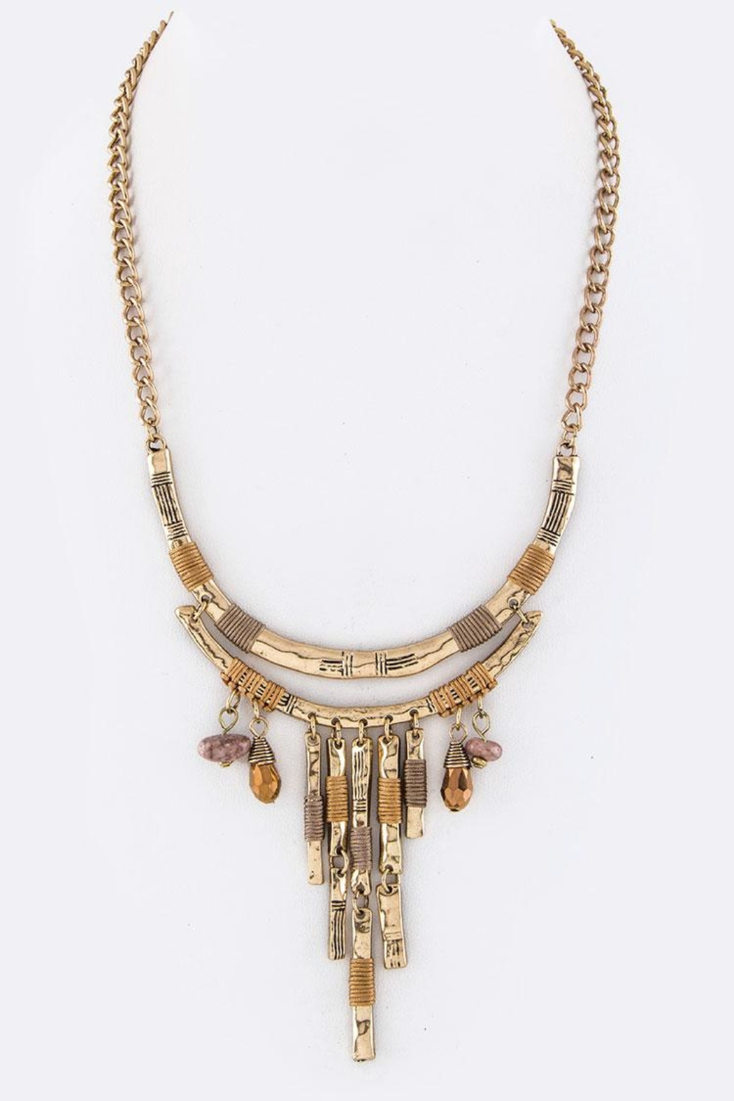 Nadya's Closet Layer Bars Necklace - Main Image