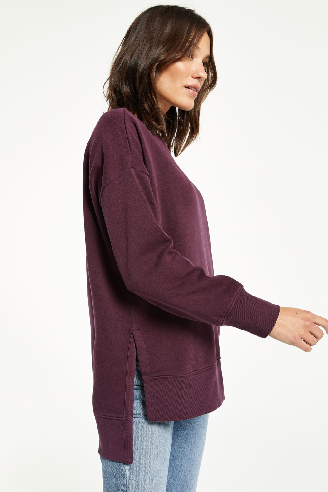 z supply Layer Up Sweatshirt - Front Full Image