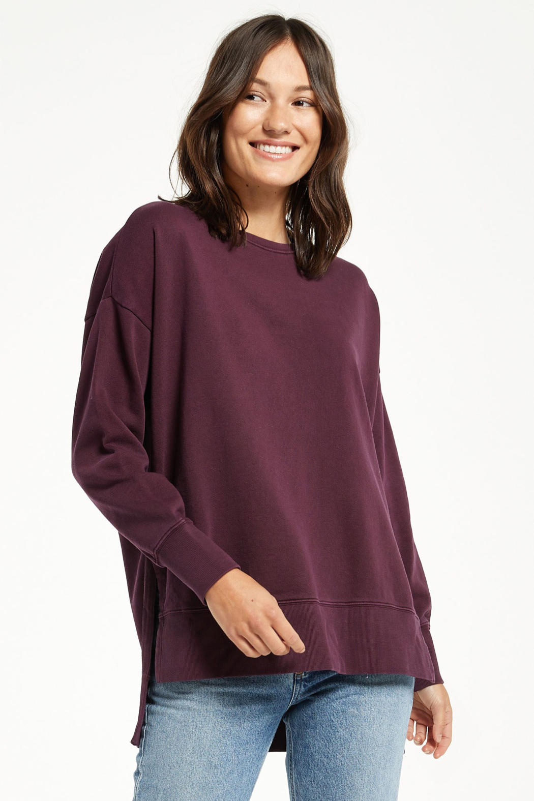 z supply Layer Up Sweatshirt - Front Cropped Image
