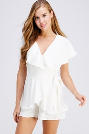 Do & Be Layer Wrap Romper - Product Mini Image