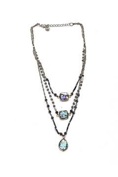 Shoptiques Product: Layered Abalone Necklace