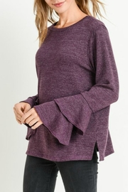 Jodifl Layered Bell-Sleeve Top - Product Mini Image