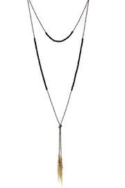US Jewelry House Layered Chain Necklace - Product Mini Image