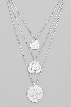 Shoptiques Product: Layered Coin Necklace
