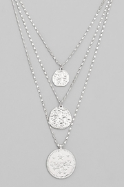 Wild Lilies Jewelry  Layered Coin Necklace - Product Mini Image