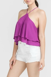 Lush Clothing  Layered Crop Top - Product Mini Image