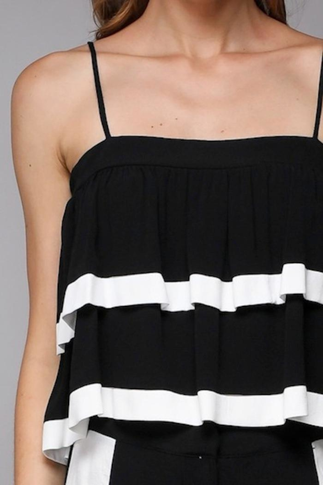 Do & Be Layered Crop Top - Front Full Image