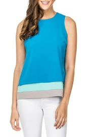 Jade Layered Detail Top - Product Mini Image