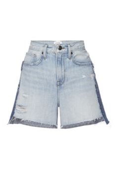 Shoptiques Product: Layered Distressed Short