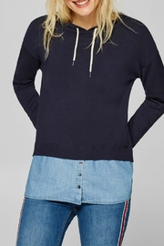 Esprit Layered Effect Hoodie - Product Mini Image
