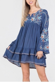 Monoreno Layered Embroidered Tunic - Product Mini Image