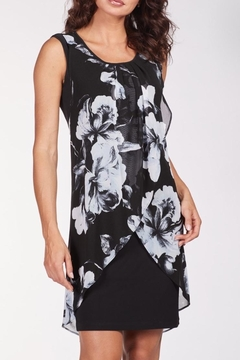 Frank Lyman Layered Floral Dress - Alternate List Image